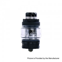 Authentic Desire Bulldog Sub Ohm Tank Clearomizer - Black, Stainless Steel + Aluminum, 4.3ml, 0.18 Ohm, 24.5mm Diameter