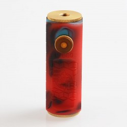 SOB Uno Bersikulo Style Hybrid Mechanical Mod - Random Color, Resin + Brass, 1 x 18650