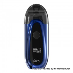 Authentic IJOY IVPC 9W 450mAh All-in-one Pod System Starter Kit - Mirror Blue, 2ml, 1.6 Ohm