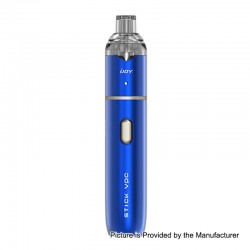 Authentic IJOY Stick VPC 15W 1100mAh Mod + VPC 1.6 Pod System Starter Kit - Mirror Blue, 1.6ml, 1.6 Ohm