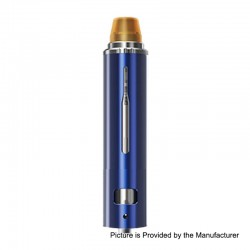 Authentic Smoant Campbel Filter + Tank Clearomizer - Sapphire Blue, Stainless Steel + Aluminum Alloy, 0.2 Ohm, 2ml + 3ml