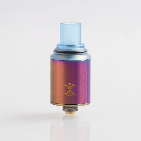 Authentic Digiflavor Etna RDA Rebuildable Dripping Atomizer w/ BF Pin - Rainbow, Stainless Steel, 18mm Diameter