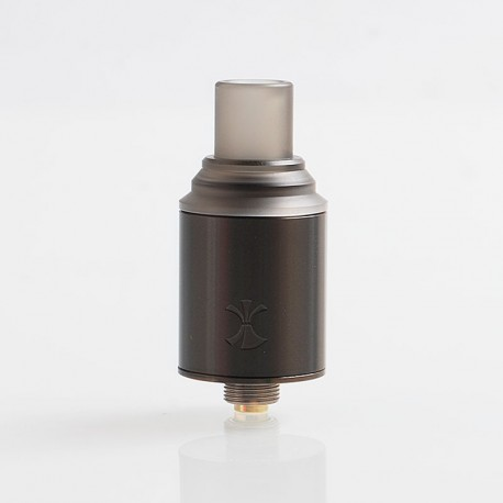 Authentic Digiflavor Etna RDA Rebuildable Dripping Atomizer w/ BF Pin - Gun Metal, Stainless Steel, 18mm Diameter