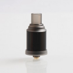 Authentic Digiflavor Etna RDA Rebuildable Dripping Atomizer w/ BF Pin - Black, Stainless Steel, 18mm Diameter