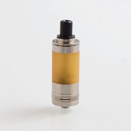 Coppervape Ubertoot UTA2 Style MTL RTA Rebuildable Tank Atomizer w/ BF Pin - Silver, 316 Stainless Steel, 5ml, 22mm Diameter
