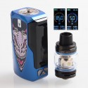 Authentic Vaporesso Tarot Baby 85W 2500mAh TC VW Variable Wattage Box Mod + NRG SE Tank Kit - Blue, 5~85W, 4.5ml