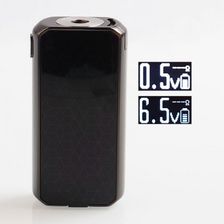 Authentic Augvape Druga Foxy 150W VW Variable Wattage Box Mod - Gun Metal, 2 x 18650