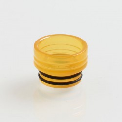 810 Replacement Drip Tip A for TFV8 / TFV12 Tank / Goon / Kennedy / Reload RDA - Yellow, Epoxy Resin