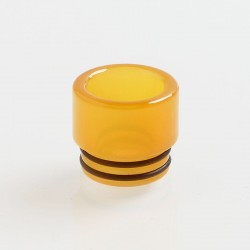 810 Replacement Drip Tip B for TFV8 / TFV12 Tank / Goon / Kennedy / Reload RDA - Yellow, Epoxy Resin