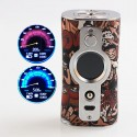Authentic Vsticking VK530 200W TC VW Variable Wattage Box Mod - J-Graffiti, 5~200W, 2 x 18650