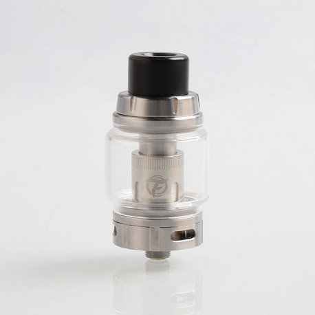 Authentic Fumytech Rodeo Mesh Sub Ohm Tank Clearomizer - Silver, 6.5ml, 0.13 Ohm, 28mm Diameter