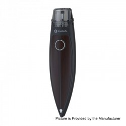 Authentic Joyetech RunAbout 480mAh Pod System Starter Kit - Black Wood, Stainless Steel, 2ml