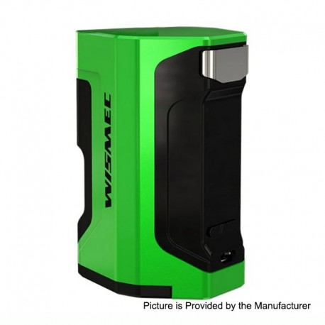 Authentic Wismec Luxotic DF 200W TC VW Variable Wattage Squonk Box Mod - Green, 7ml, 1~200W, 2 x 18650