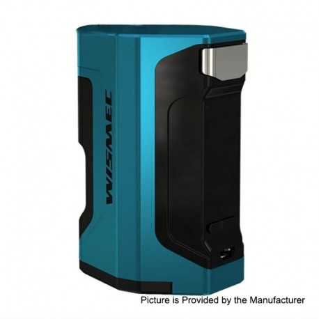 Authentic Wismec Luxotic DF 200W TC VW Variable Wattage Squonk Box Mod - Blue, 7ml, 1~200W, 2 x 18650
