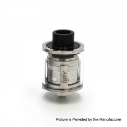 Authentic IJOY Limitless LMC Sub Ohm Tank Clearomizer - Silver, Stainless Steel + Pyrex Glass, 2ml, 25mm Diameter