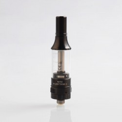 Authentic Fumytech Mini Fumytank 3 Sub Ohm Tank Clearomizer - Black, Stainless Steel, 2.5ml