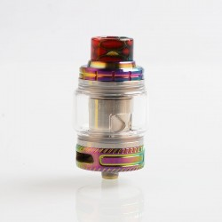 Authentic Smoant Naboo Sub Ohm Tank Clearomizer - Rainbow, Stainless Steel, 0.17 / 0.18 Ohm, 4ml, 25mm Diameter