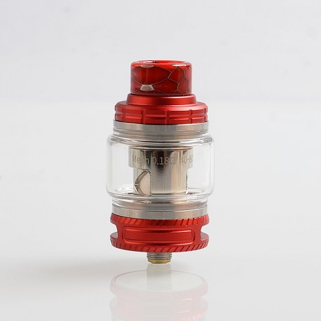 Authentic Smoant Naboo Sub Ohm Tank Clearomizer - Red, Stainless Steel, 0.17 / 0.18 Ohm, 4ml, 25mm Diameter