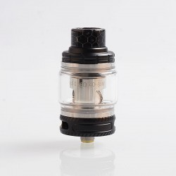 Authentic Smoant Naboo Sub Ohm Tank Clearomizer - Black, Stainless Steel, 0.17 / 0.18 Ohm, 4ml, 25mm Diameter