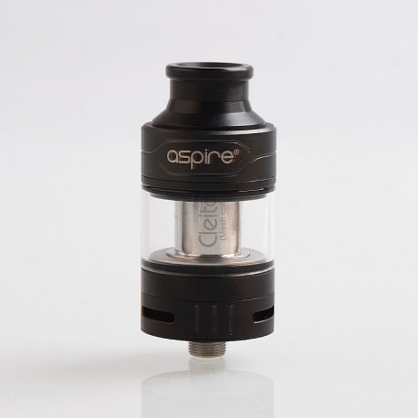 Authentic Aspire Cleito Pro Sub Ohm Tank Clearomizer - Black, 3ml, 0.5 / 0.15 Ohm, 24mm Diameter