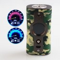Authentic Vsticking VK530 200W TC VW Variable Wattage Box Mod - Camouflage, 5~200W, 2 x 18650