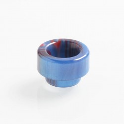 Authentic Vapesoon 810 Replacement Drip Tip for 528 Goon / Reload / Battle RDA - Blue + Red, Resin, 11.7mm