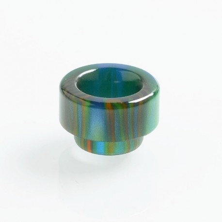 Authentic Vapesoon 810 Replacement Drip Tip for 528 Goon / Reload / Battle RDA - Green, Resin, 11.7mm