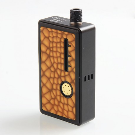 Authentic Marvec Priest AIO 90W Starter Kit - Orange, Aluminum + Resin, 1 x 18650, 5ml