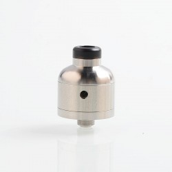 YFTK TIT Nipple V2 Style RDA Rebuildable Dripping Atomizer w/ BF Pin - Silver, 316 Stainless Steel, 22mm Diameter