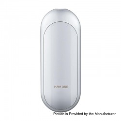Authentic HAVA One 350mAh Pod System Starter Kit - Silver, Zinc Alloy, 2ml, 1.2 Ohm