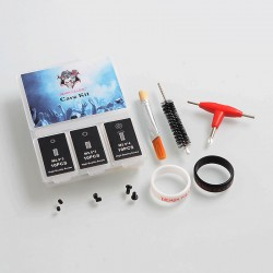 Authentic Demon Killer Care Kit Replacement Screw Pack for RDA / RTA - M2.5 x 3 + M3.0 x 3 + M2.5 x 4 (30 PCS)