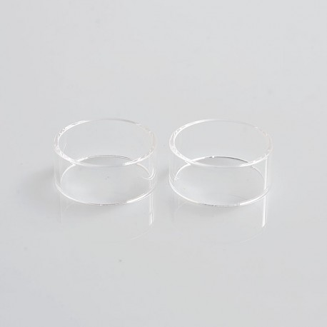 Authentic Steam Crave Replacement Tank Tube for Aromamizer Plus RDTA - Transparent, Glass, 5ml (2 PCS)