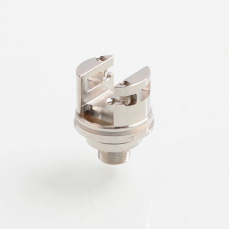 Authentic Steam Crave Replacement Single Build Coil Deck for Aromamizer Supreme V2 RDTA - Silver, Stainless Steel