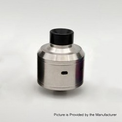 Citadel Style RDA Rebuildable Dripping Atomizer w/ BF Pin - Silver, Stainless Steel, 22mm Diameter