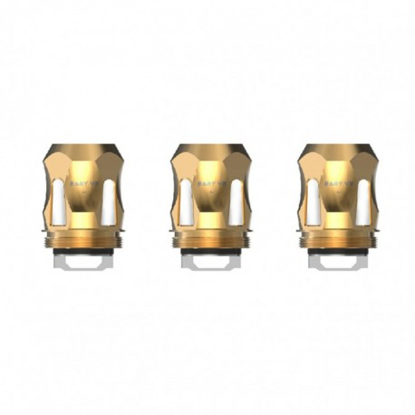 Authentic SMOKTech SMOK Replacement A1 Coil Head for TFV8 Baby V2 Sub Ohm Tank - Gold, 0.17ohm (90~140W) (3 PCS)