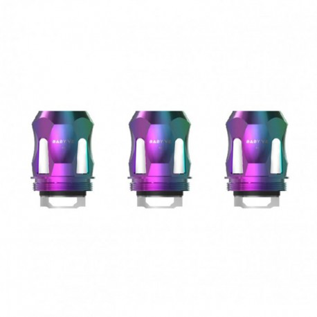Authentic SMOKTech SMOK Replacement A1 Coil Head for TFV8 Baby V2 Sub Ohm Tank - Rainbow, 0.17ohm (90~140W) (3 PCS)