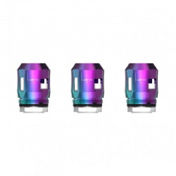 Authentic SMOKTech SMOK Replacement A2 Coil Head for TFV8 Baby V2 Sub Ohm Tank - Rainbow, 0.2ohm (70~120W) (3 PCS)