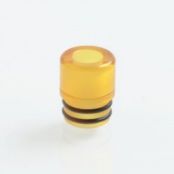 SteamTuners T8 Style 510 Drip Tip for RDA / RTA / Sub Ohm Tank Atomizer - Yellow, PEI, 12mm