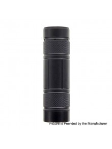 Authentic CoilART Mage Mech V2.0 Hybrid Mechanical Tube Mod Stacked Edition - Black, Brass, 1 / 2 x 18650 / 20700 / 21700