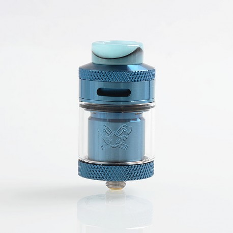 Authentic Hellvape Dead Rabbit RTA Rebuildable Tank Atomizer - Blue, 2ml / 4.5ml, 25mm Diameter