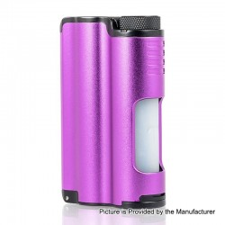 Authentic Dovpo Topside 90W TC VW Variable Wattage Squonk Box Mod - Purple, 10ml, 1 x 18650 / 21700