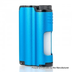 Authentic Dovpo Topside 90W TC VW Variable Wattage Squonk Box Mod - Blue, 10ml, 1 x 18650 / 21700