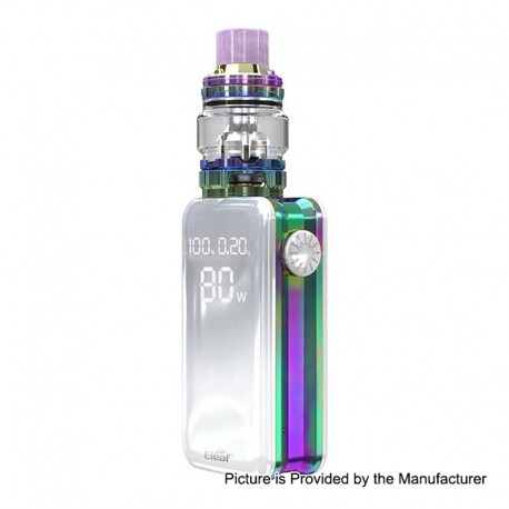 Authentic Eleaf iStick Nowos 80W 4400mAh TC VW Box Mod + ELLO Duro Tank Kit - Dazzling, 6.5ml, 28mm Diameter