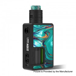 Authentic Vandy Vape Pulse X 90W TC VW Squonk Box Mod + Pulse X BF RDA Kit - Kitty Hawk, 5~90W, 1 x 18650 / 20700 / 21700