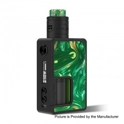 Authentic Vandy Vape Pulse X 90W TC VW Squonk Box Mod + Pulse X BF RDA Kit - Kill Devil Hills, 5~90W, 1 x 18650 / 20700 / 21700