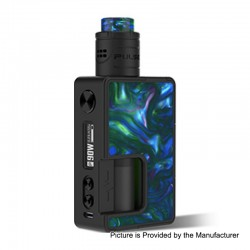 Authentic Vandy Vape Pulse X 90W TC VW Squonk Box Mod + Pulse X BF RDA Kit - Seaweed Green, 5~90W, 1 x 18650 / 20700 / 21700