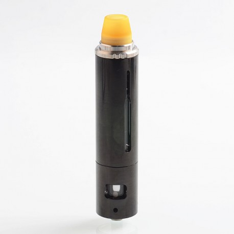 Authentic Smoant Campbel Filter + Tank Clearomizer - Classic Black, Stainless Steel + Aluminum Alloy, 0.2 Ohm, 2ml + 3ml