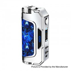 Authentic iOOi I007 117W TC VW Variable Wattage Box Mod - Brushed Silver, 5~117W, 1 x 18650 / 20700 / 21700