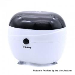 Authentic Vivismoke Ultrasonic Cleaner for RDA / RTA / Sub Ohm Tank Atomizer - White + Black, 150ml