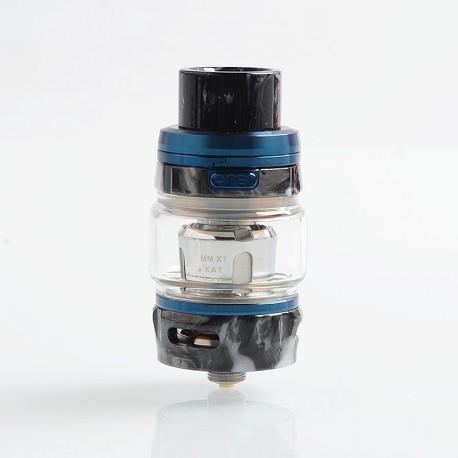 Authentic GeekVape Alpha Sub Ohm Tank Clearomizer - Blue + Onyx Resin, 0.2 Ohm, 4ml, 25mm Diameter
